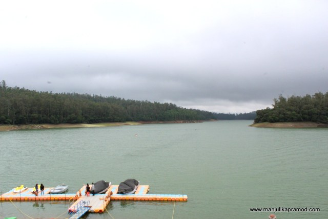 Pykara lake in Ooty
