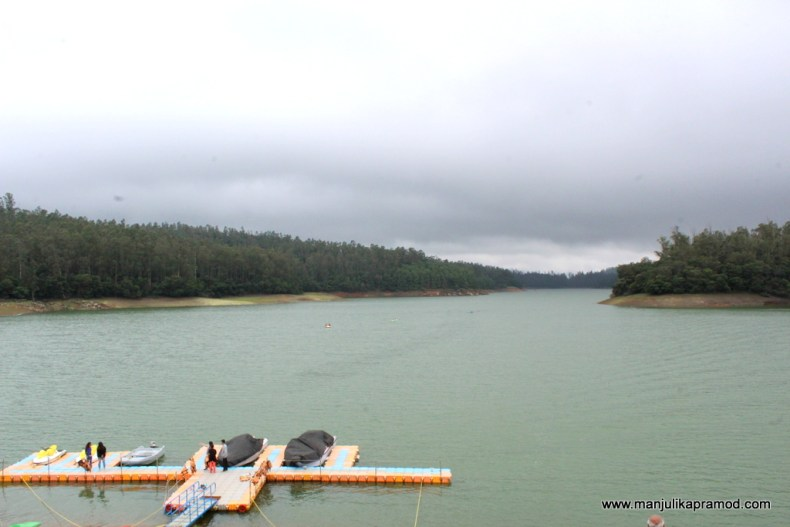 Pykara lake in Ooty