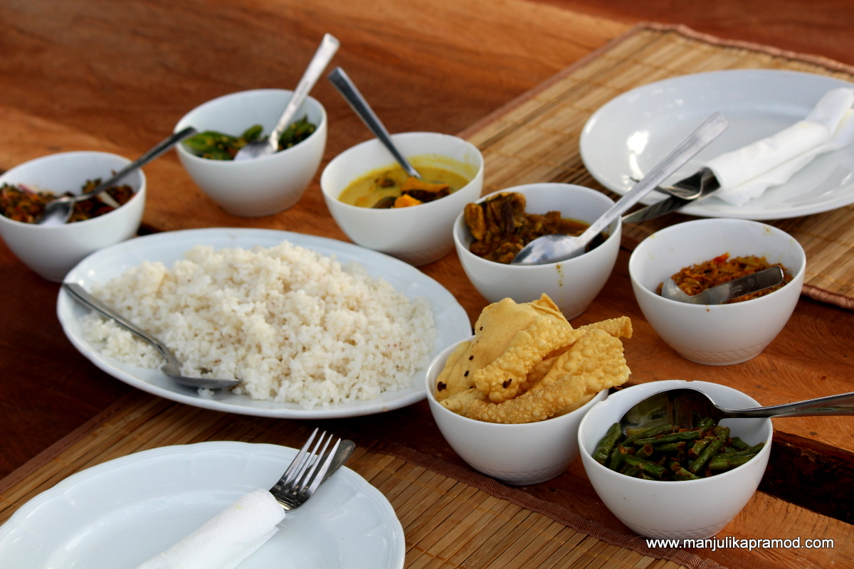 Local food of Sri Lanka
