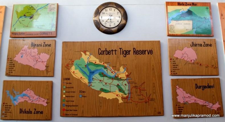 Safari in Corbett, Places near delhi