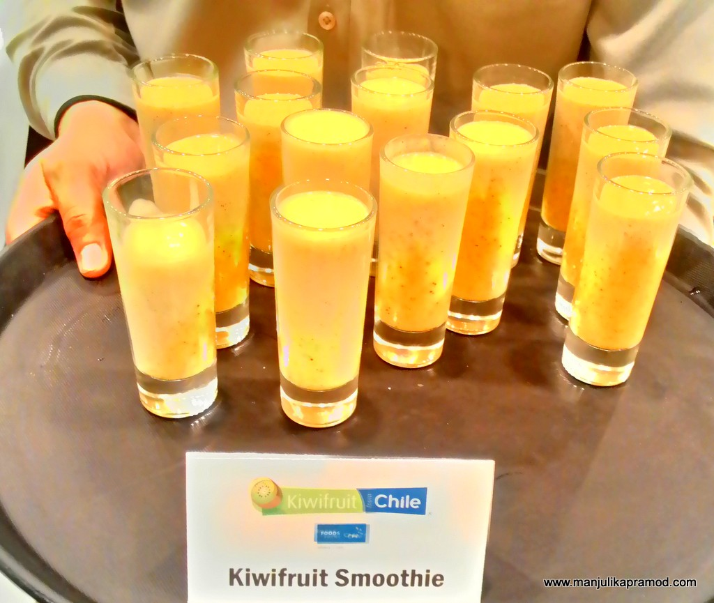 Kiwifruit smoothie recipe