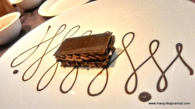 Chocolate painting