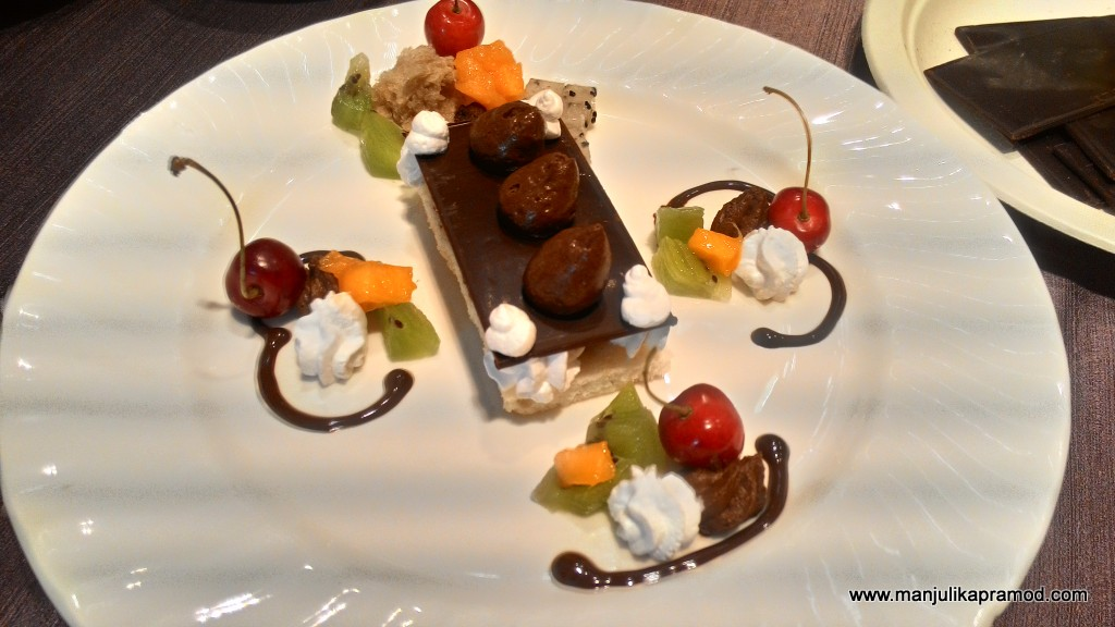 Chocolate plating