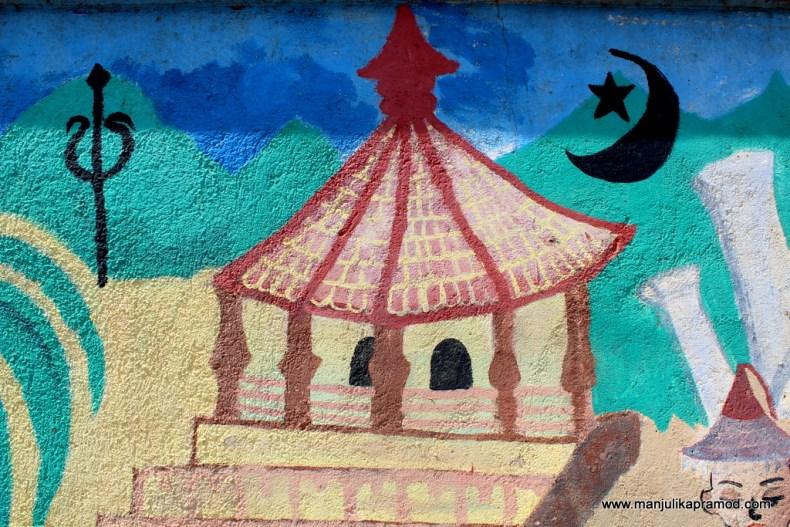 Art, Sri Lanka, Wall art