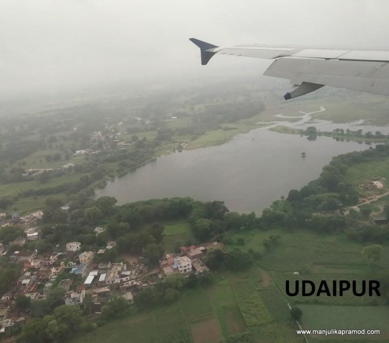 Delhi to Udaipur flight, Jetairways