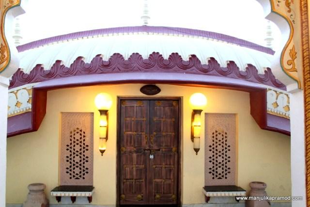 The beautiful interiors and exteriors