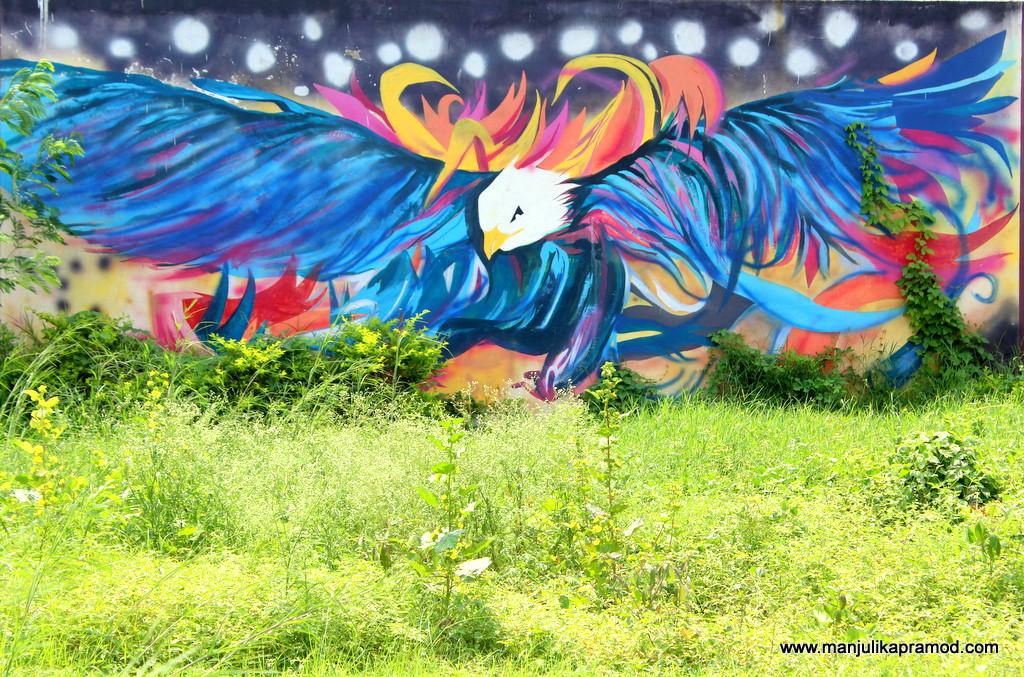 Graffiti, Wall Art, Chhattisgarh, Local Artists in Raipur