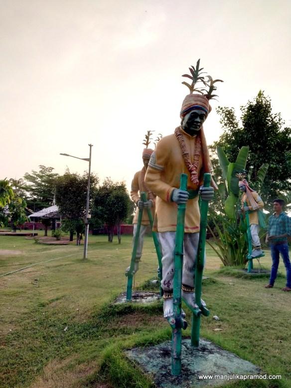 Open Air musuem in Raipur