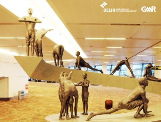 The 'Coffee Table Book' of Delhi Airport is Awe-Inspiring