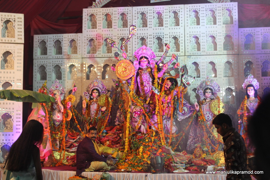 Pandal hopping in Jaipur