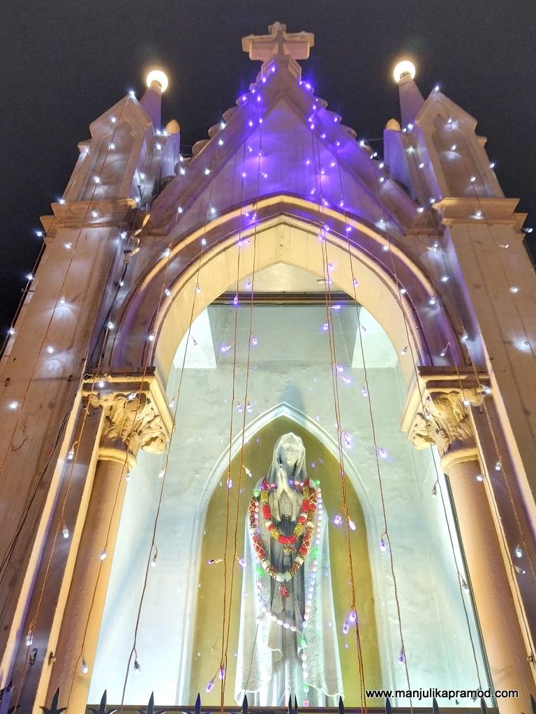 Mother Mary Church in Mumbai