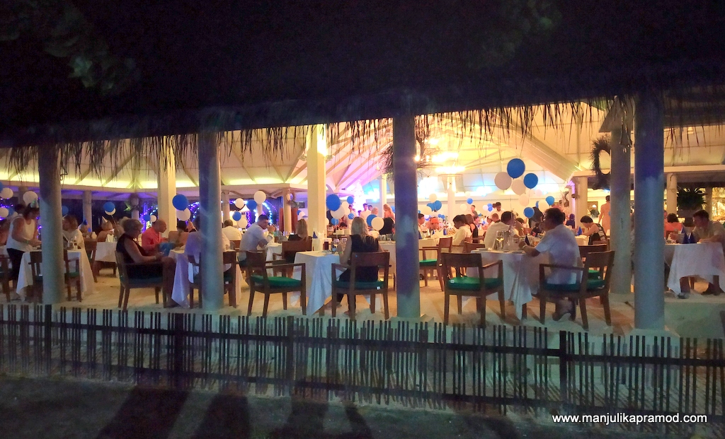 How to celebrate New year in Maldives?