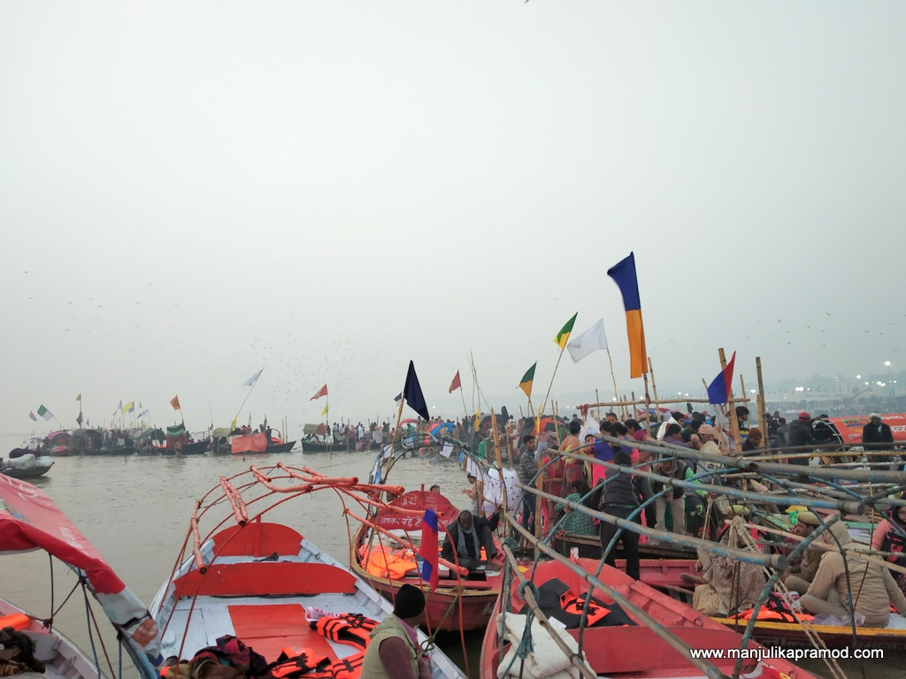 Royal bath day at Kumbh in Prayagraj