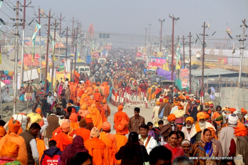 Kumbh is considered to be one of the largest Hindu pilgrimage.