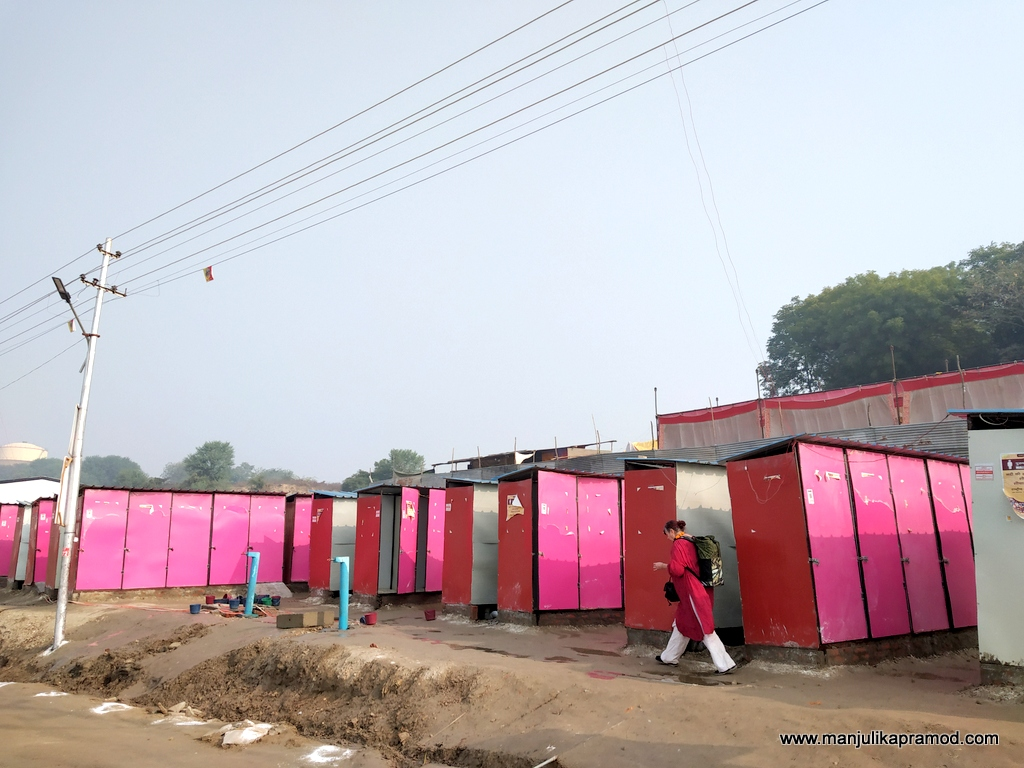Pink toilets