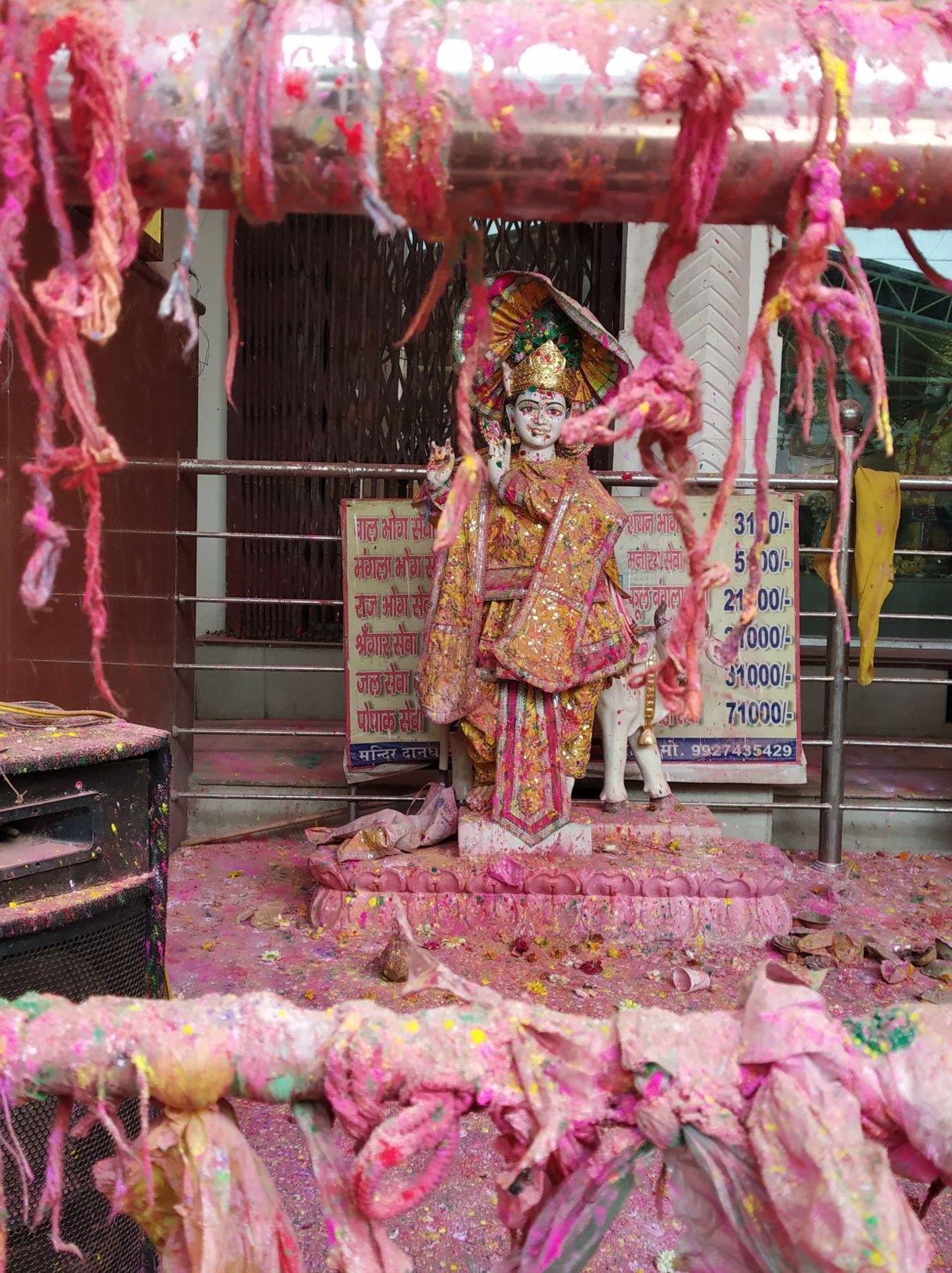 Celebrating Holi in Mathura-Vrindavan