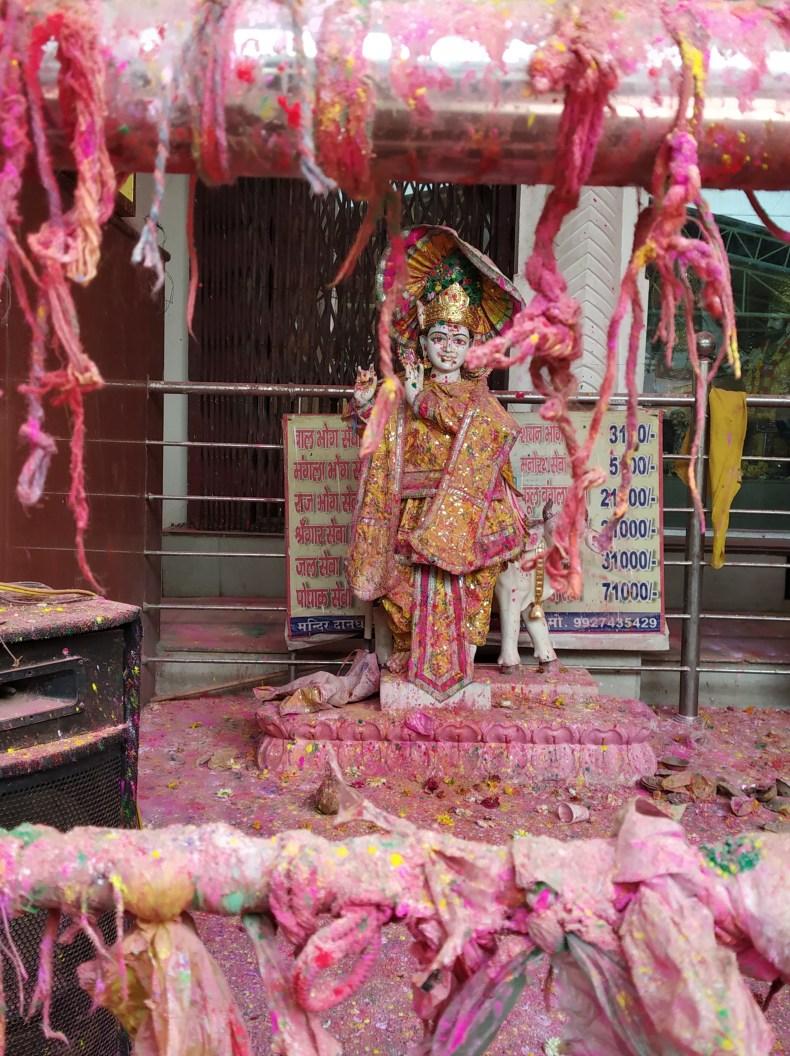 Celebrating Holi in Mathura-Vrindavan
