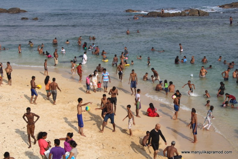 Galle fort beach