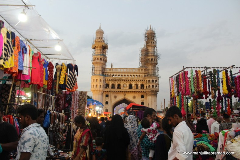 We traveled to Hyderabad to see Charminar. You must plan a weekend getaway from Vijayawada.