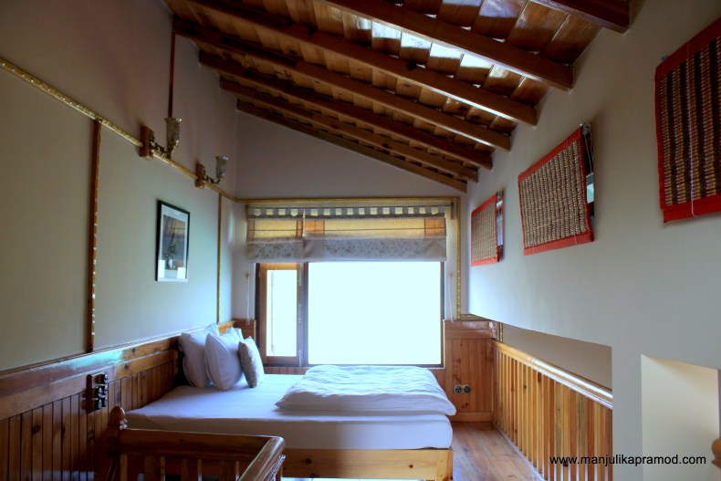 The attic in the cottage -Parvada Bungalows