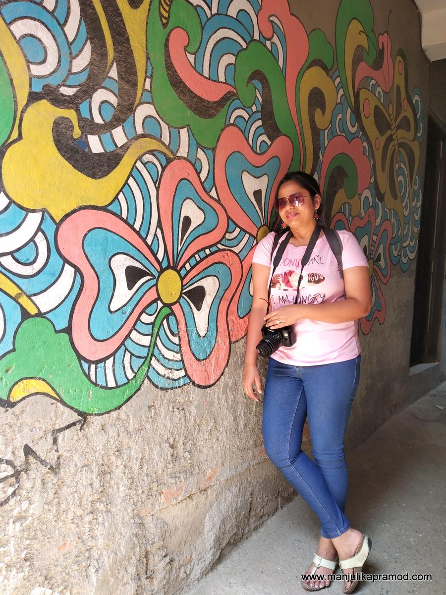 Have you seen this wall art in Kathmandu Durbur Square?