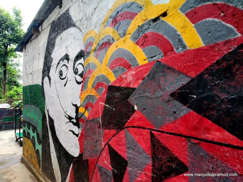 Nepali street art