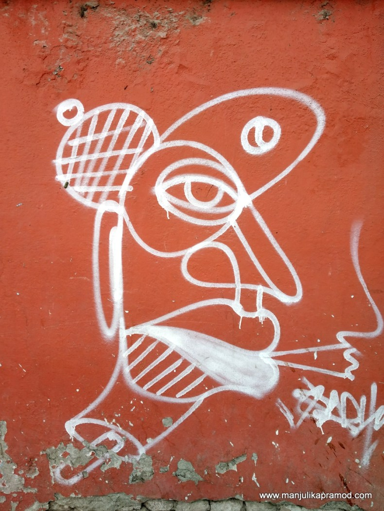 Creative wall arts in Nepal