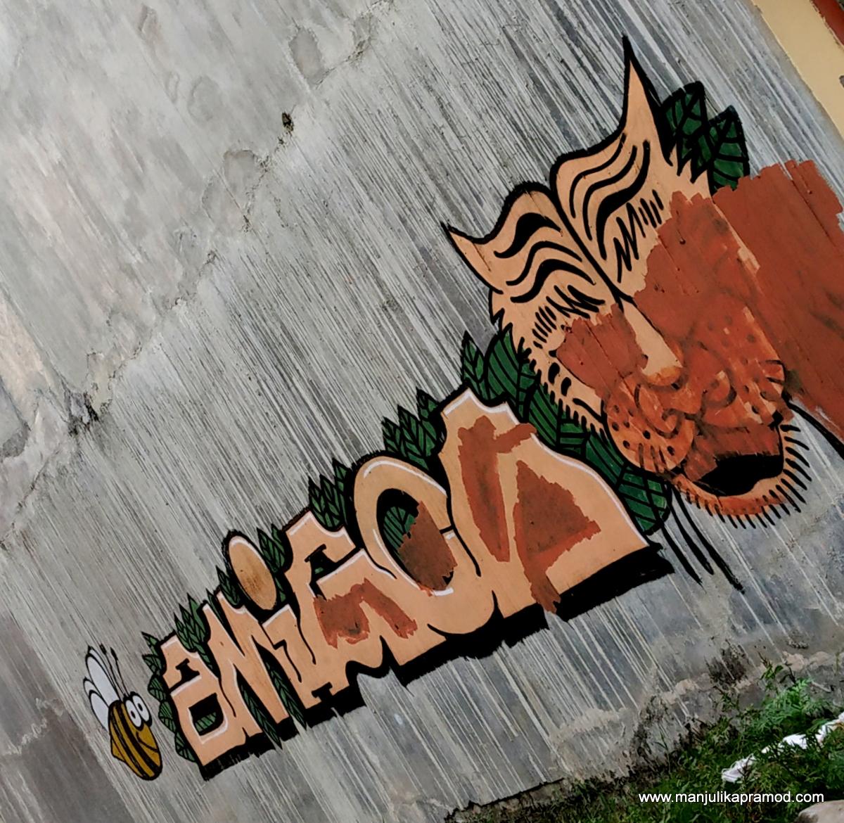 #Nepal #Nepalitinerary #travel #blog #streetartinNepal