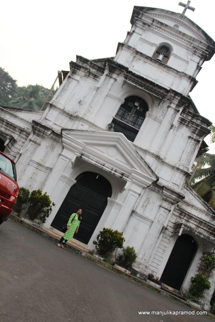 My favorite church in Goa