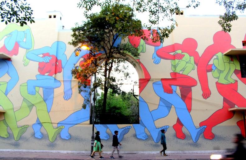 Street art in India