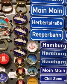 Souvenirs in Hamburg