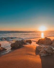 Algarve region in Portugal