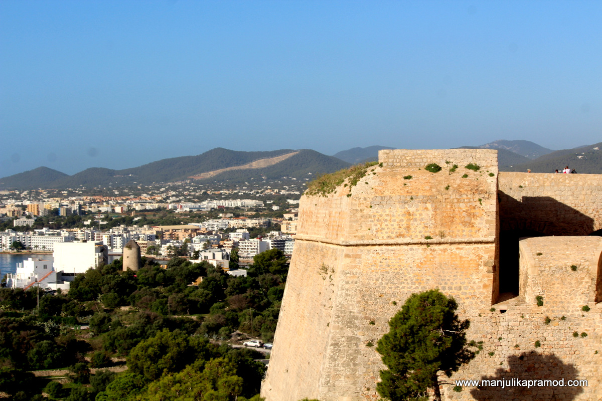 The old walled town of IBIZA was declared World Heritage in 1999.