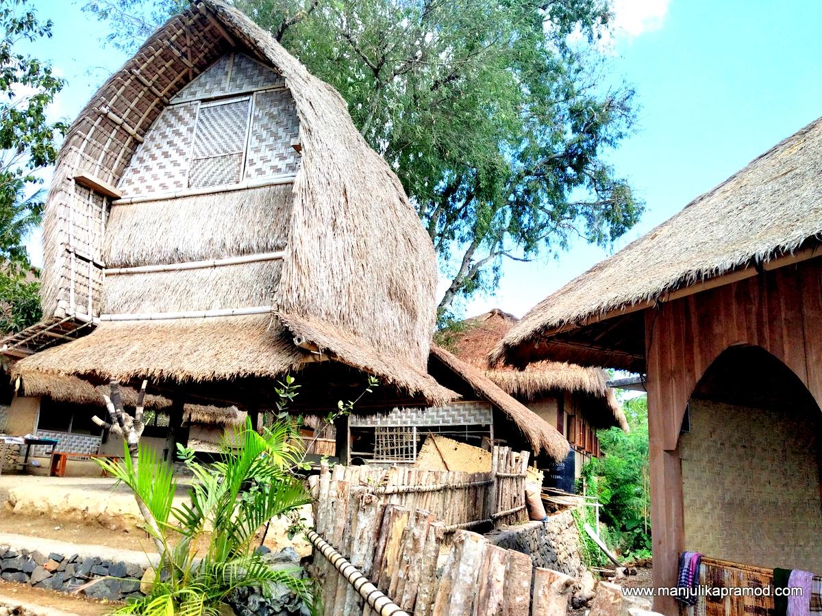 Rice barns