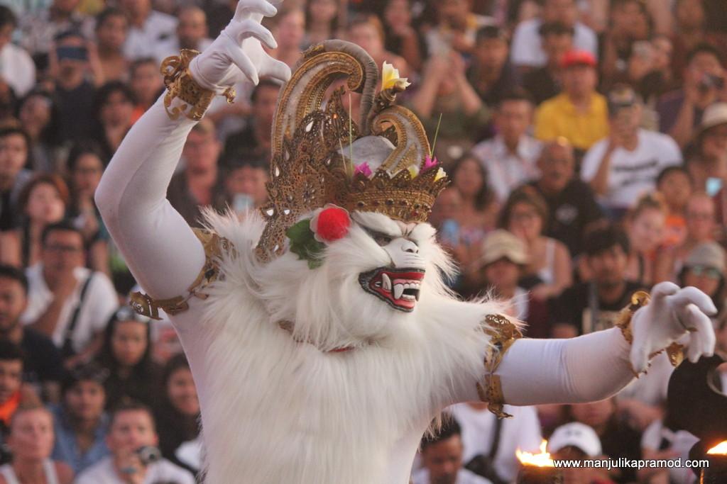 Hanuman at Kecak dance