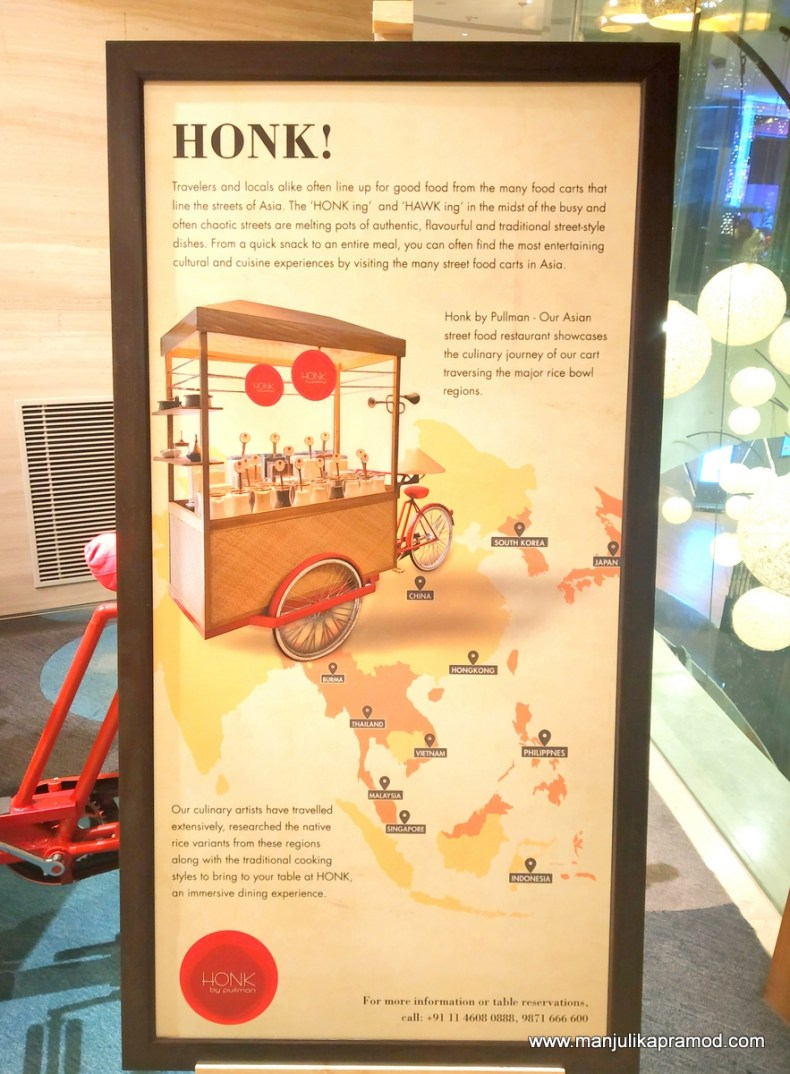 Honk by Pullman - One of the Places to eat, near airport in Aerocity.