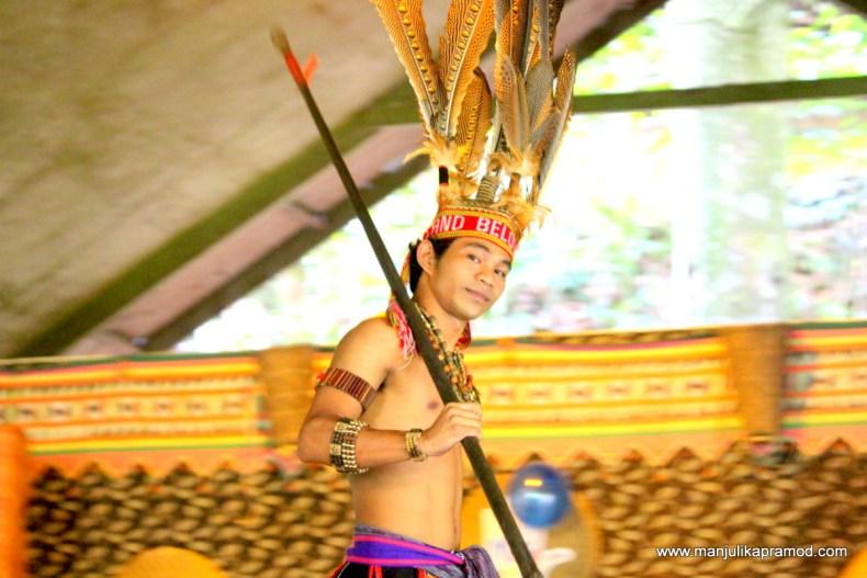 Mari mari cultural experience, near Kota Kinabalu