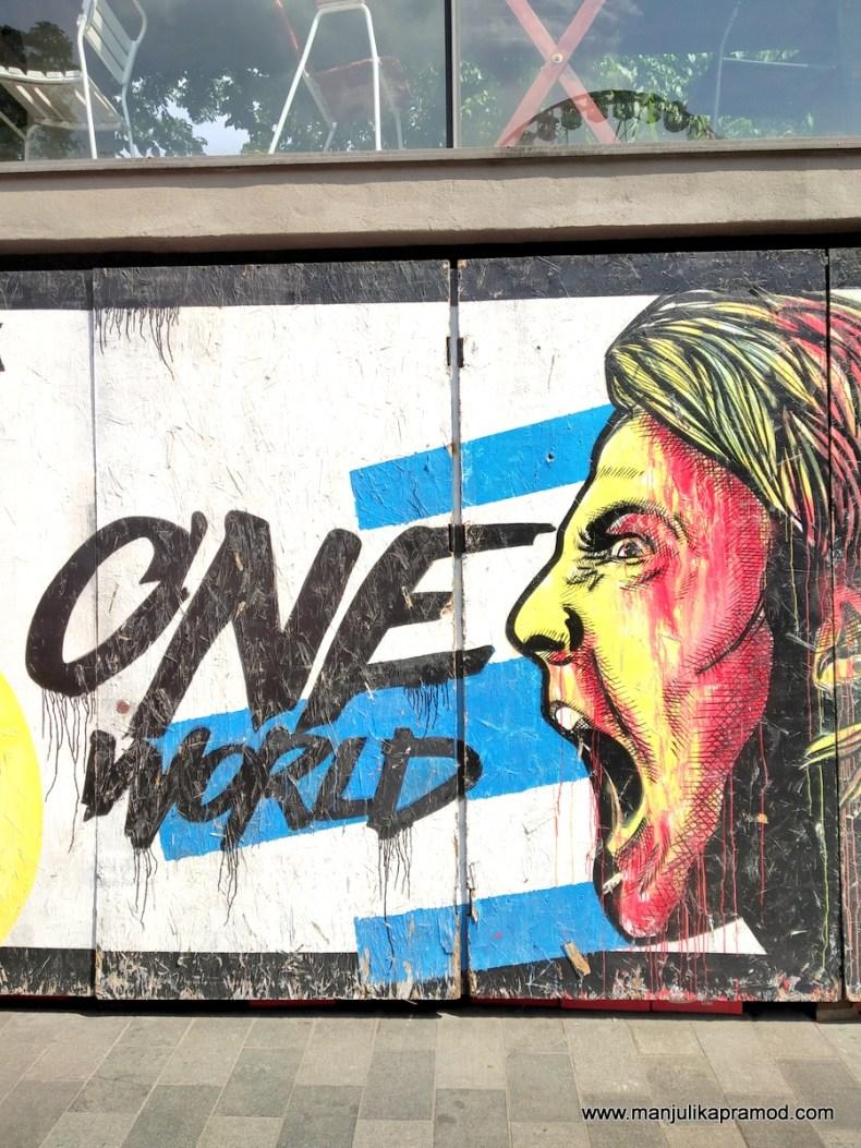 Street Art - One world - Budapest