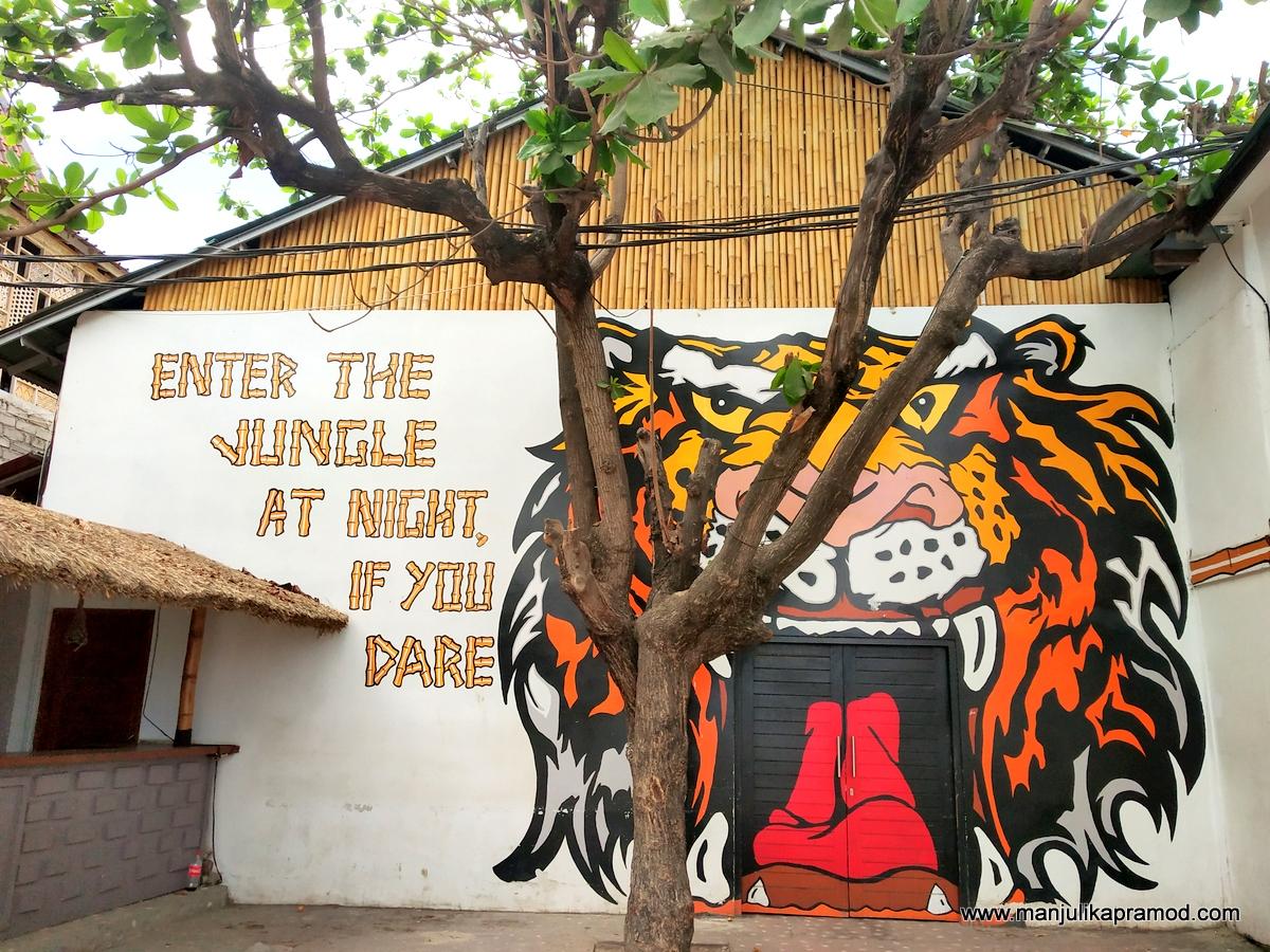 Street art in Gilli Trawangan