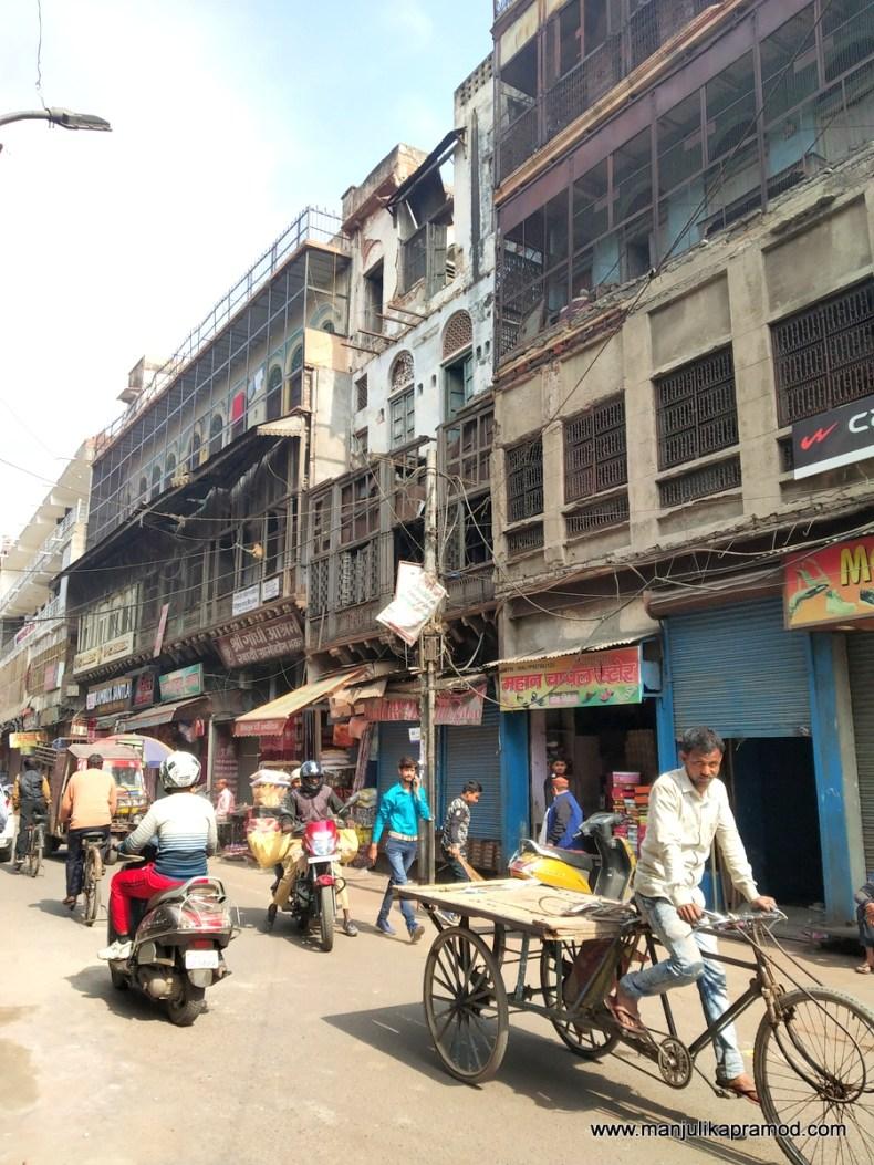 City walk in Agra before lockdown