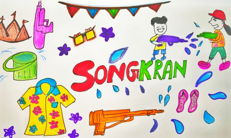 Songran art work -Quarantine Art