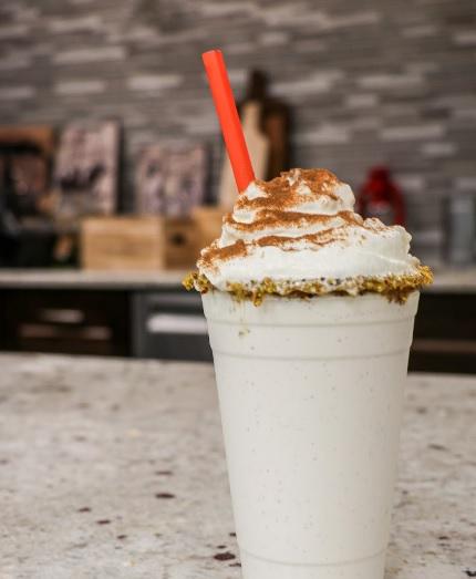 Vanilla Chai milkshake