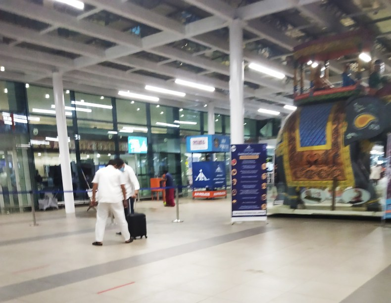 Latest picture from Vijayawada airport
