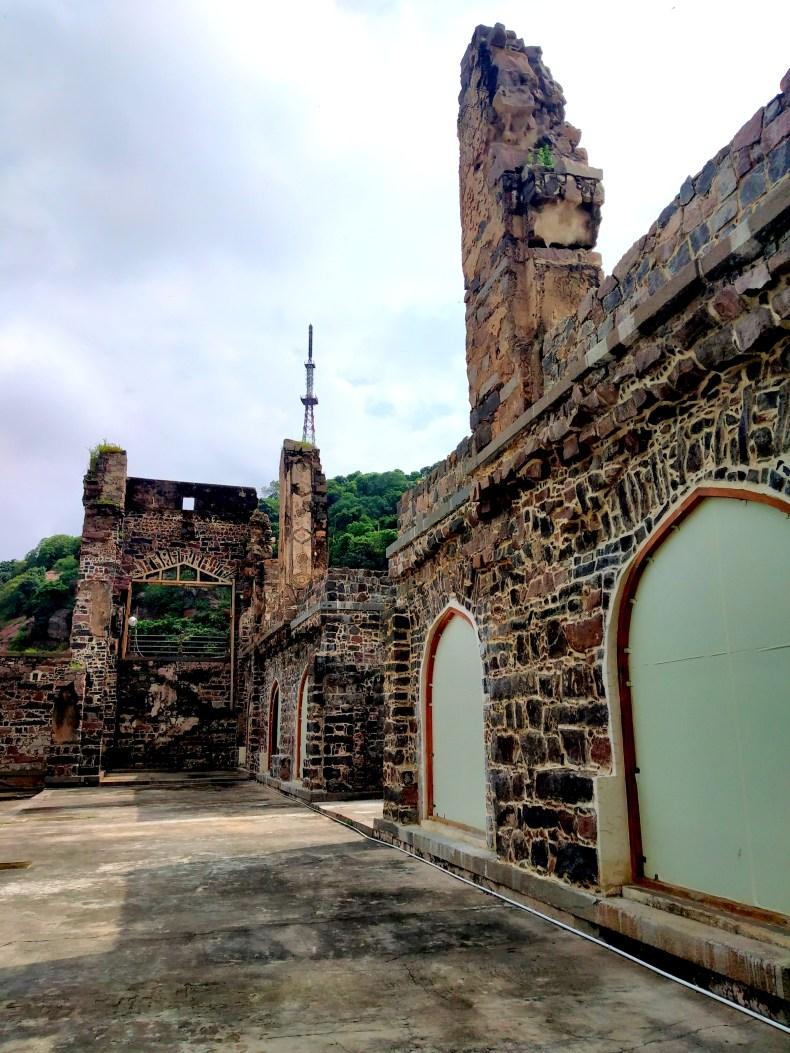 Inside of Kondapalli fort
