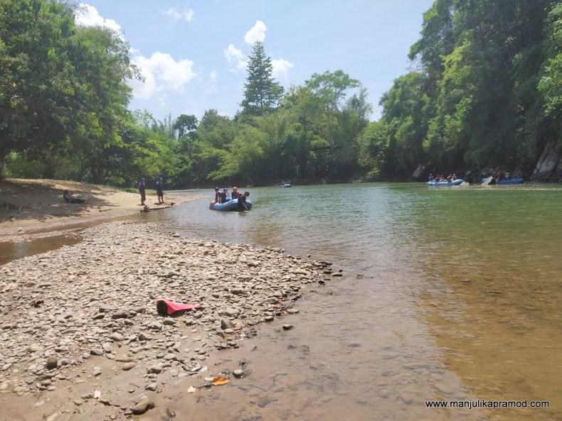Kiulu river in Sabah is beautiful