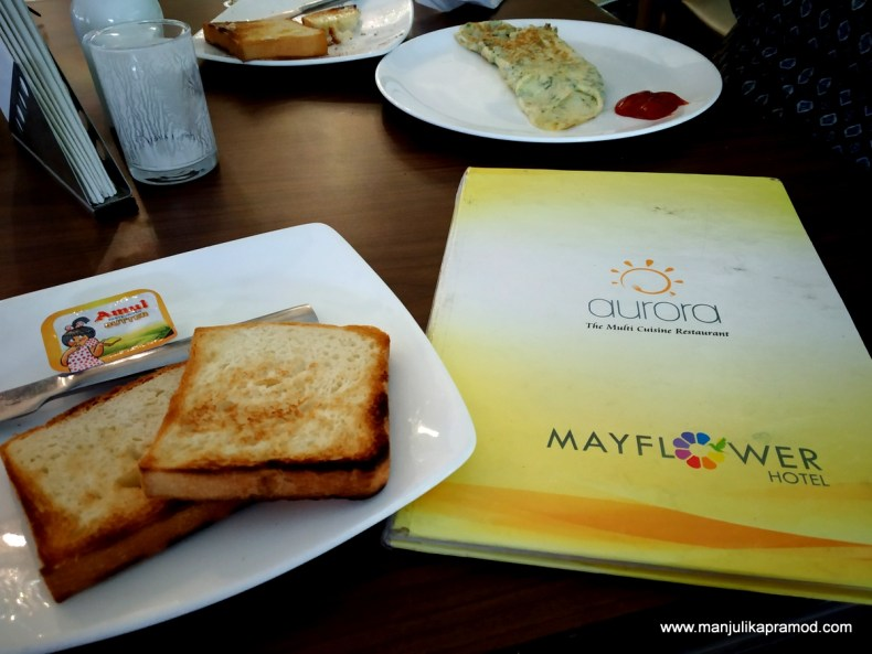 breakfast at mayflower hotel