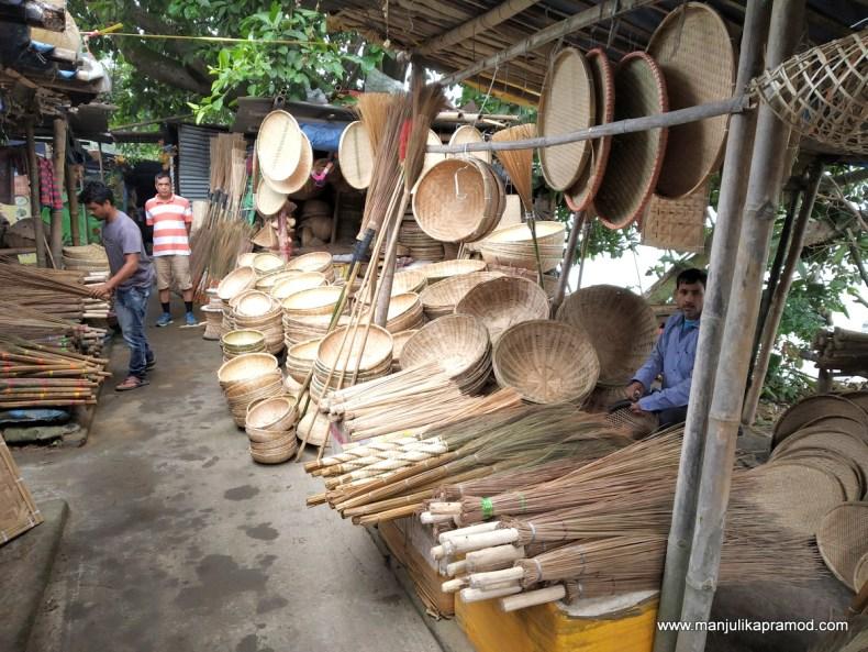Bamboo crafts of Guwahati
