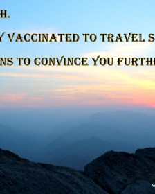 10 reasons to get vaccinated before travelling