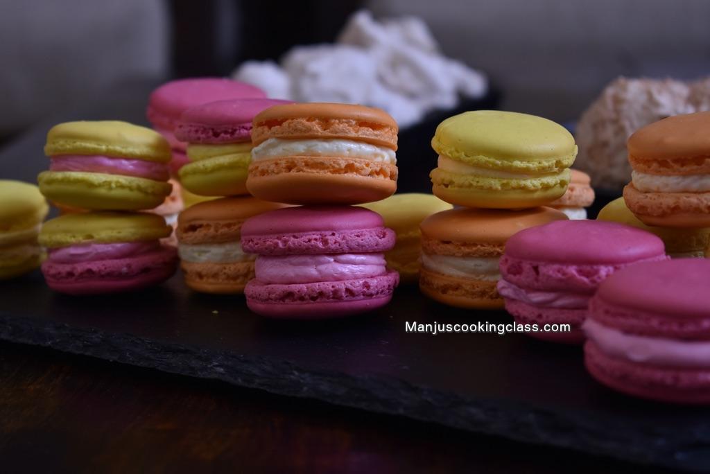 French Macaron Making Classes Bangalore India