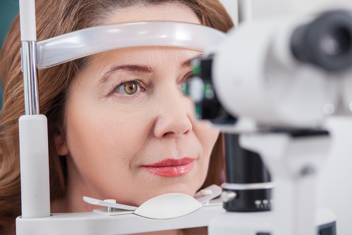 Eye exam for Diabetic Retinopathy